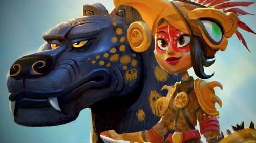 Maya and the Three (2021)  online