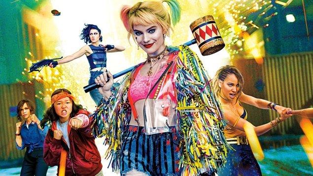 Vtáky noci a fantastický prerod jednej Harley Quinn online film