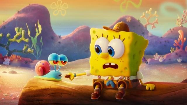 SpongeBob vo filme: Hubka na úteku online film