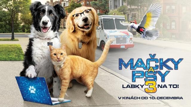 Mačky a psy 3: Labky na to online film