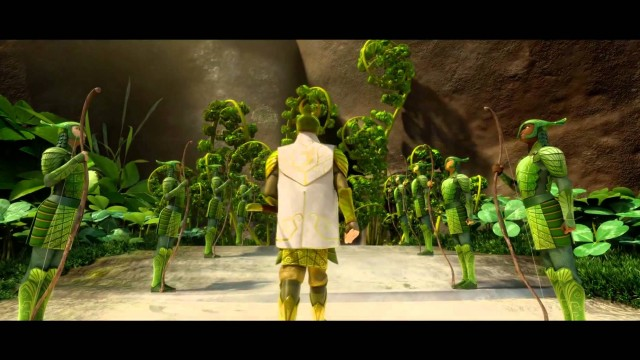 Kráľovstvo lesných strážcov / Epic online film